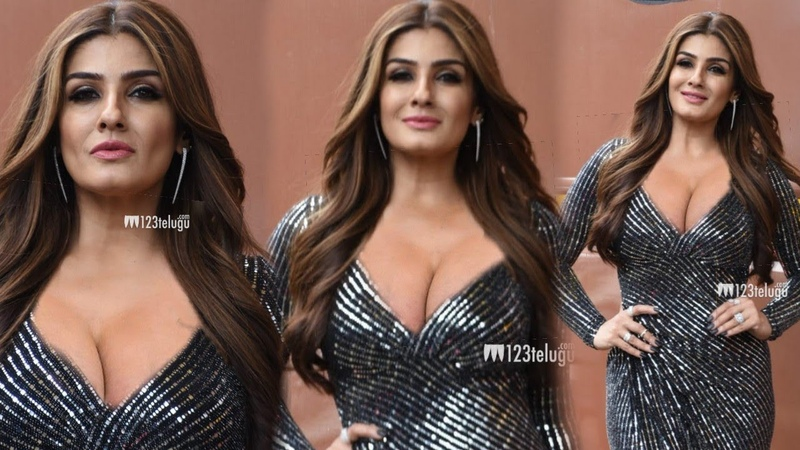 Raveena Tandon UNBELIEVABLE SXY Look at 44 Years age | Spotted at Nach Baliye 9 Set