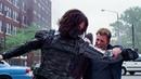 Captain America Vs The Winter Soldier - Captain America The Winter Soldier (2014) Movie CLIP 4K