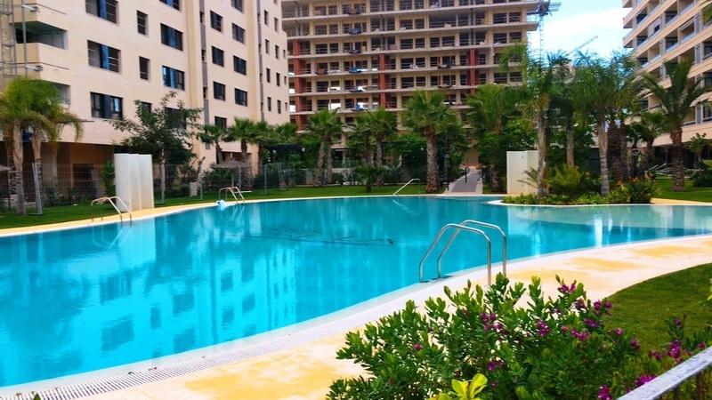 Испания квартира в новом комплексе Аликанте район San Juan Playa эксклюзивная продажа квартиры