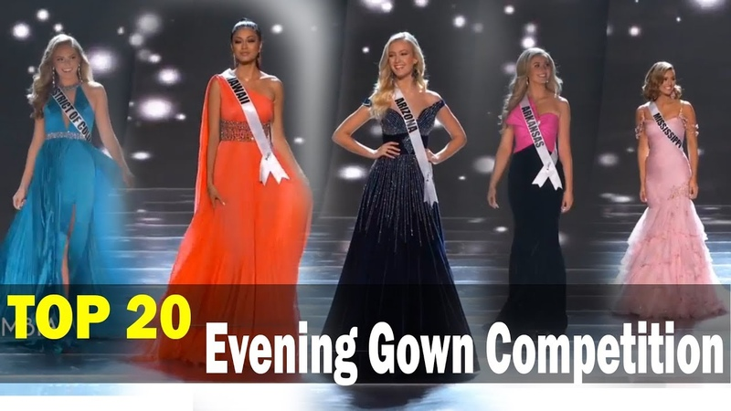 TOP 20 Evening Gown Competition | Miss Teen USA 2019 Preliminary Competition