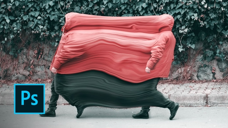 Art Makers Sakir Yildirim Creates Liquified Movement in Photoshop Adobe Creative Cloud