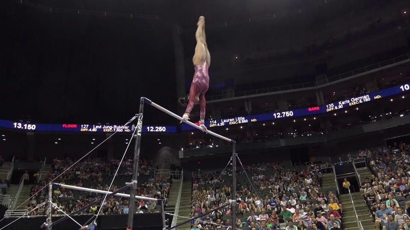 Kayla DiCello – Uneven Bars – 2019 U.S. Gymnastics Championships – Junior Women Day 2