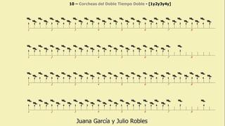 Los Ritmos del Tango - 10 - Corcheas del Doble Tiempo Doble - 1y2y3y4y