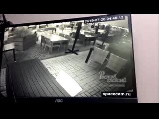 На Соборном местные украли три стула  Ростов-на-Дону Главный