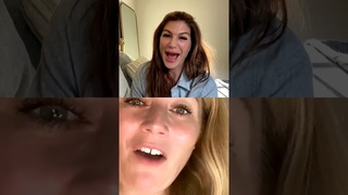 Genevieve Padalecki IG Live with Campbell Richie 12/16/20