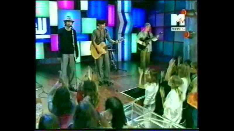 УМАТУРМАН - прасковья (live at ''тотальное show'', mtv, 2004)