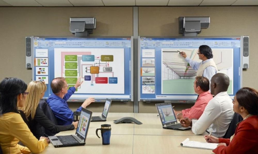 Аренда сенсорных мониторов для презентаций, тренингов