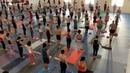 "𝙎𝙝𝙖𝙧𝙖𝙩𝙝 𝙅𝙤𝙞𝙨, 𝙋𝘼𝙍𝘼𝙈𝘼𝙂𝙐𝙍𝙐 on Instagram: ""Union of Ashtanga Yoga Seekers 🙏 Season 2019~2020"""