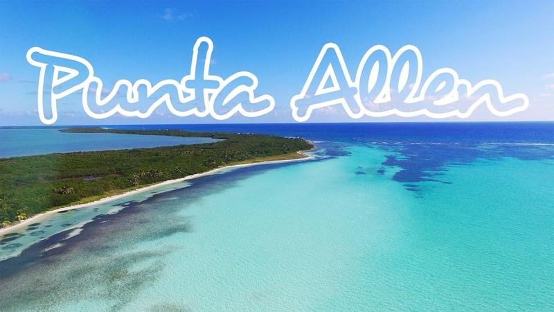 Punta Allen Sian Ka'an Drone GoPro