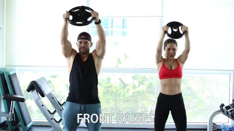 Rutina de Hombros Triceps y Abdominales