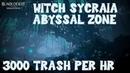 Witch Sycraia Abyssal Zone 275 Kutum 3000/hr