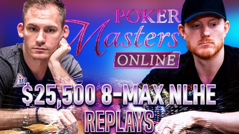 POKER MASTERS Online 16 $25k KOON BONOMO SMITH Final Table Poker Replays