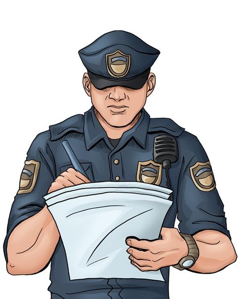 Картинка с милиционеров