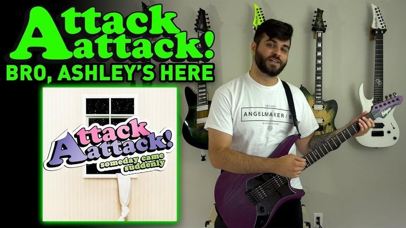 Attack Attack Bro Ashley's Here Guitar Instrumental Cover