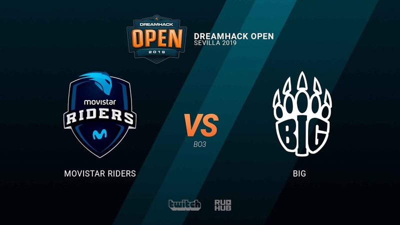 Movistar Riders vs BIG - DH Open Sevilla 2019 - map1 - de_mirage [TheCraggy MintGod]