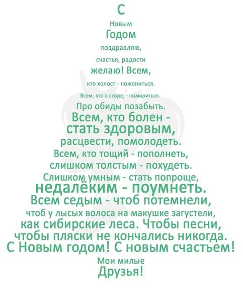 Всех с наступающим новым годом!)