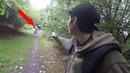 CHASED BY KILLER CLOWN IN HAUNTED FOREST **HE CAUGHT ME**
