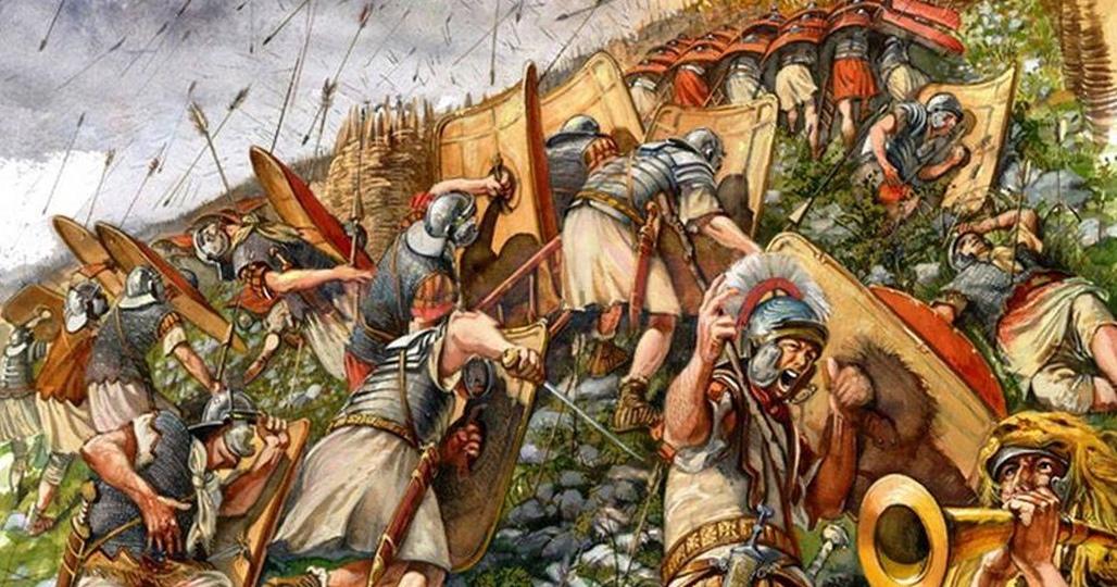 Штурм легионеров