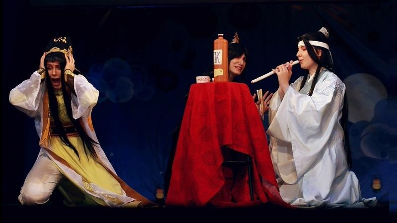 Mo Dao Zu Shi Lan Xichen, Jin Guangyao and Nie Huaisang Cosplay at Oni no Yoru 2019