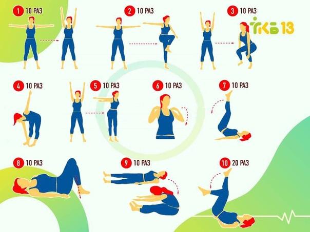 Польза Зарядки Для Похудения. Ежедневная зарядка для похудения