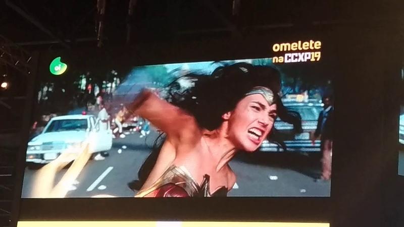 Lançamento do trailer de Mulher Maravilha 1984 na CCXP 2019