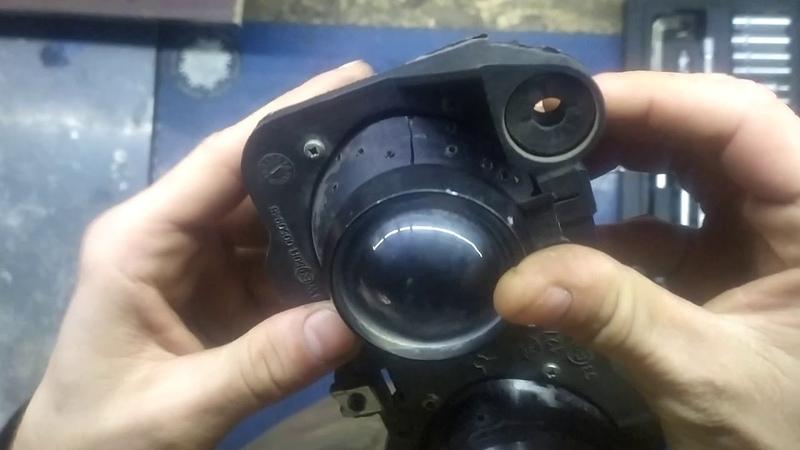 Как сделать нормальный свет на Malaguti f12 f15 Установка LED Cree U2 U3 в стандартной оптике