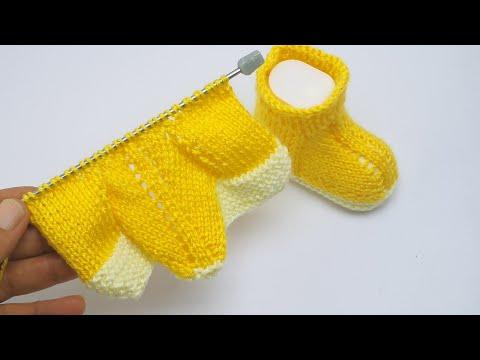 Bebek dükkanı İp şiş alın gelin ilk sizin olsun bebek patik modeli yapımı BABY SHOP