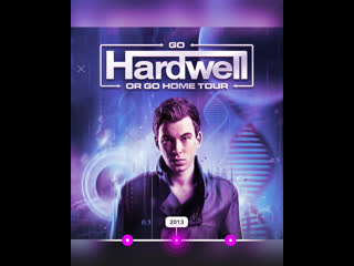 Go hardwell or go home - us tour 2013