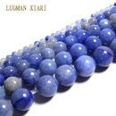 Fine AAA 100 Natural Blue Aventurine Round Natural Stone Beads For Jewelry Making DIY Bracelet Necklace 4 681012mm
