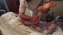 Как делать Специальный Мануальный Массаж ног сзади. Сет №1 и №2 (Бедра и голень)
