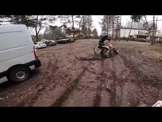 [PilotZX6R] Обманули при покупке мотоцикла | Попал на ремонт | Прыжок через пит