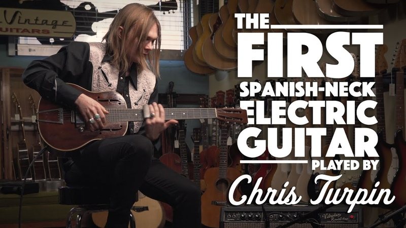 The FIRST Spanish Electric Guitar played by Chris Turpin