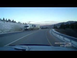 Смертельное ДТП на трассе в Бурятии.
