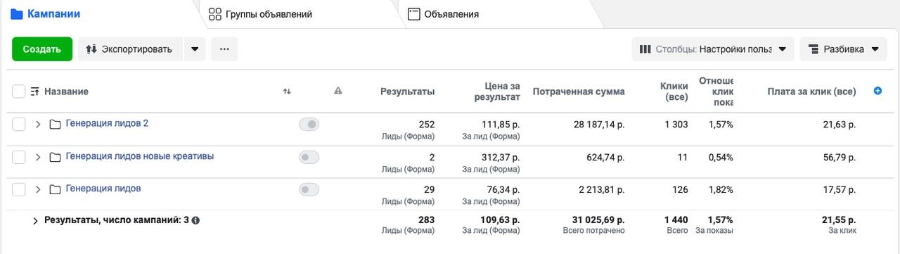 [КЕЙС] 300 заявок на тренинг Натальи Грэйс в Новосибирске, изображение №8