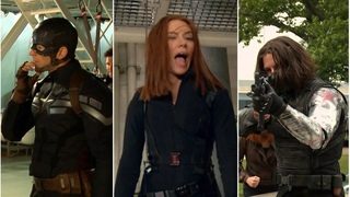 Captain America: The Winter Soldier   Behind the scenes
