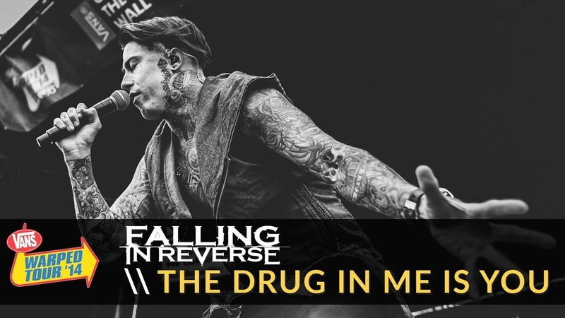 Falling in Reverse The Drug In Me Is You Live 2014 Vans Warped Tour