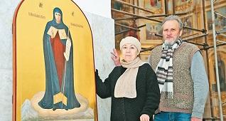 От портретов вождей к ликам святых: супруги Марченко о храмовой росписи