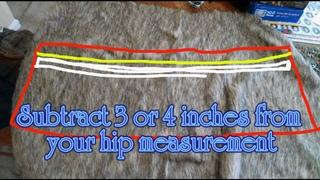 DIY Astrid Costume HTTYD2 - PART 2: Skirt