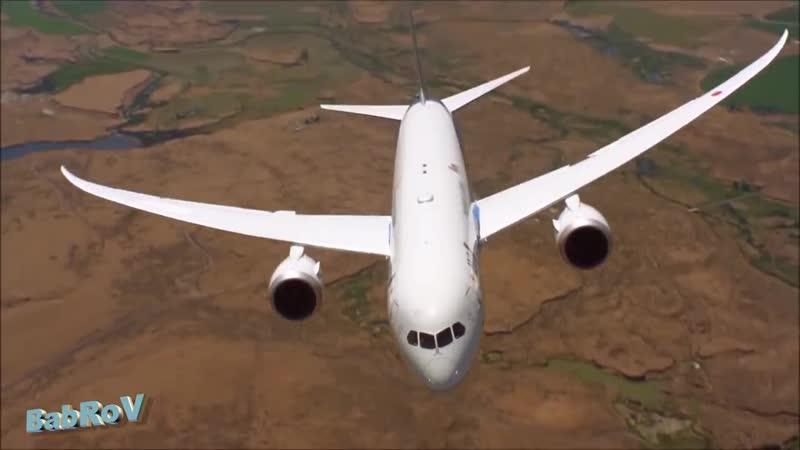 танцы стюардесс и самолётов