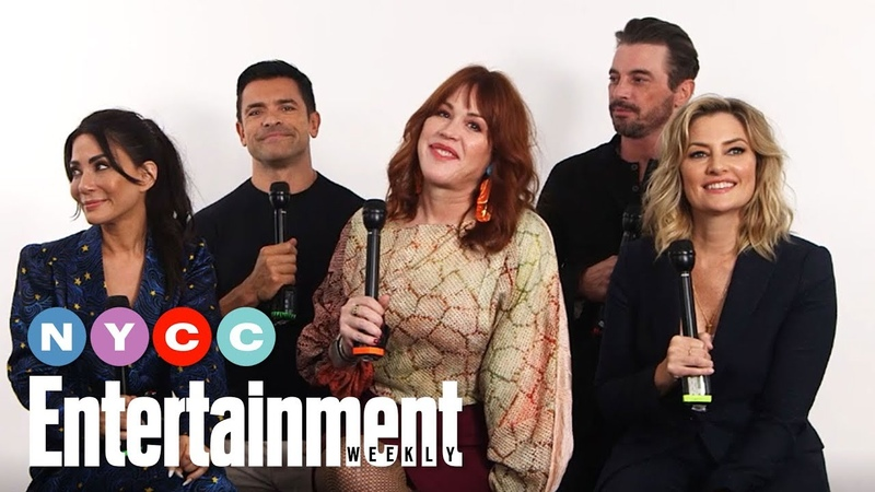 Riverdale's Mark Consuelos, Molly Ringwald More On New Season | NYCC19 | Entertainment Weekly