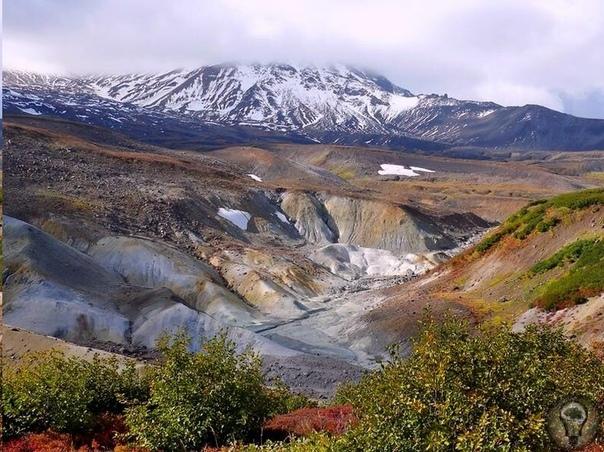 Долина смерти. Камчатка В мире есть несколько мест, которые называют Долинами смерти. Одно из наших находится на Камчатке возле вулкана с ласковым именем Кихпиныч. Из-под старины Кихпиныча, то
