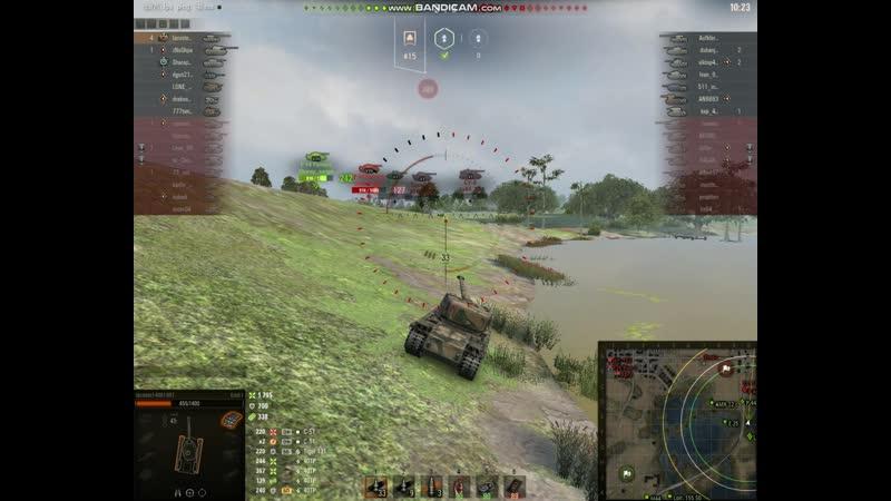 World Of Tanks первая катка на емили