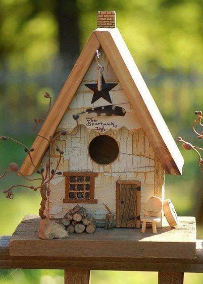 Необычные птичьи домики. Идеи Азбука_цветовода_идеи