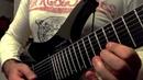 Strandberg Boden Metal 8 strings Minor arpeggios