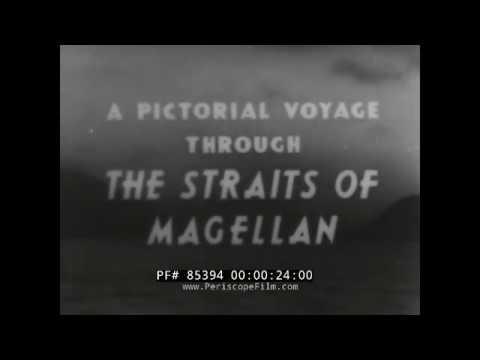 1940 VOYAGE THROUGH STRAIGHTS OF MAGELLAN CAPE HORN w ADMIRAL RICHARD BYRD 85394