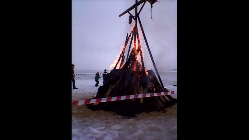 чучело горит 10 марта