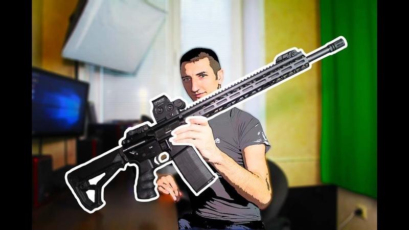 ★AR-15 Первый взгляд★ (ADAR 2-15 AR-15 Сделанная в России)