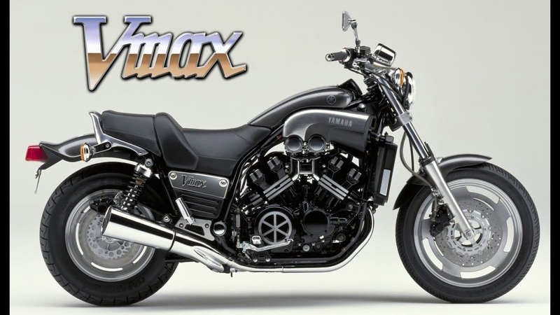 The History of the Yamaha Vmax 1200 - best bike since 1985