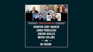 A Conversation with Sen. Cory Booker, Jared Padalecki, Jensen Ackles, & MJ Hegar