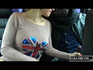 ♉ Elisa Dreams, My big black lover -  french  bigtits  MILF Elisa and her big  black Dick